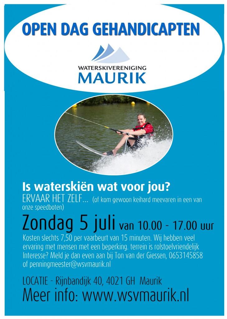 Waterskivereniging Maurik Open Dag gehandicaptenkopie